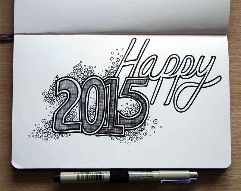 2015 New Year Doodle