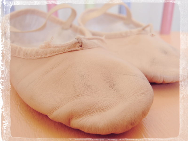 Orla's Ballet shoes