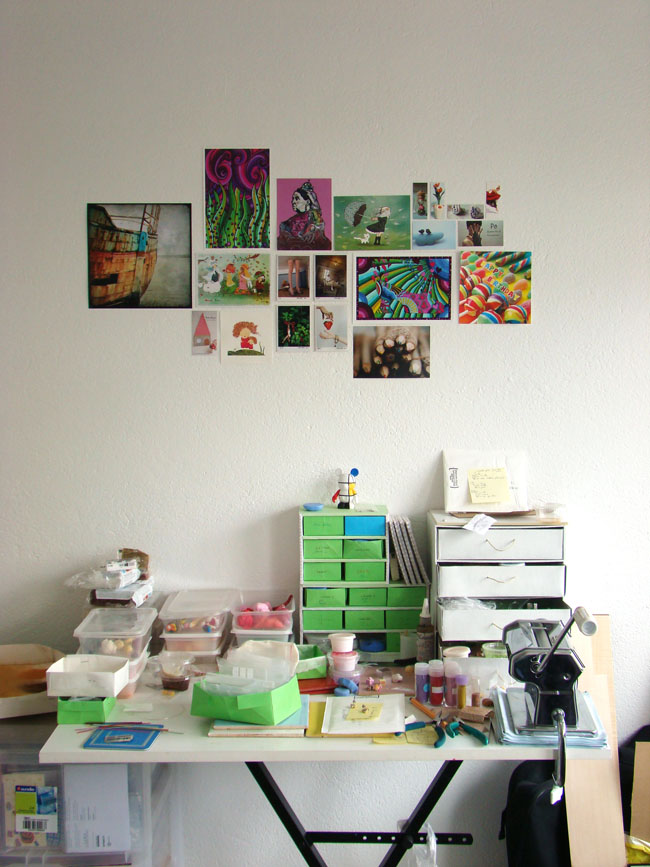 Stéphanie Kilgast - Working Table & Inspiration Wall