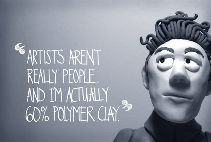 Artists Arent Really People by Lizzie Campbell
