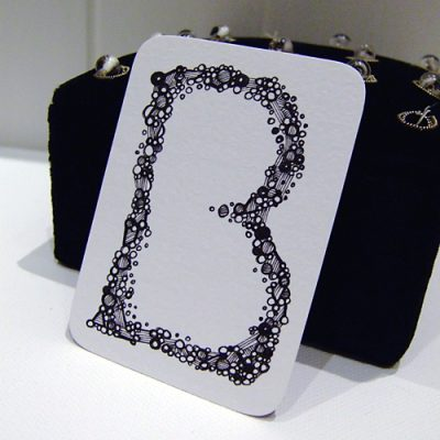 Letter B Aceo