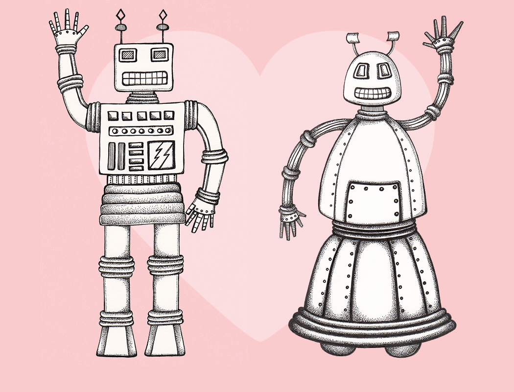 Bertha and Bernard Bot2 - Heart