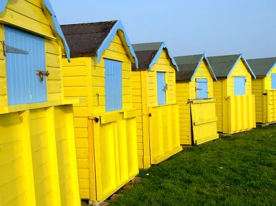 Bognor Beach Huts II - March 2009