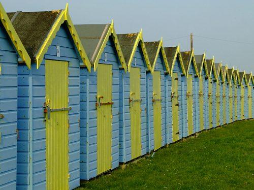 Bognor Beach Huts - March 2009