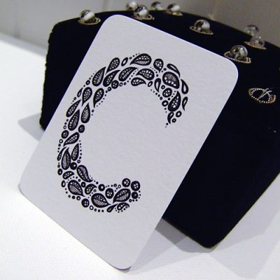 Letter C Aceo