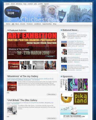 Chichester Creative Industries - Creative Boom Magazine