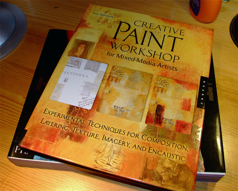 Creative Paint Workshop for Mixed Media Artists