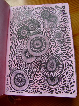 Pink Journal Doodlage