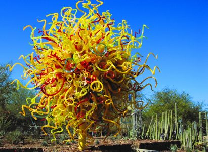 Dale Chihuly sculpture, Phoenix Desert Botanical Gardens