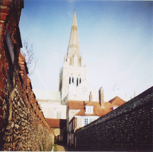 Chichester Cathedral - Bishops Gardens