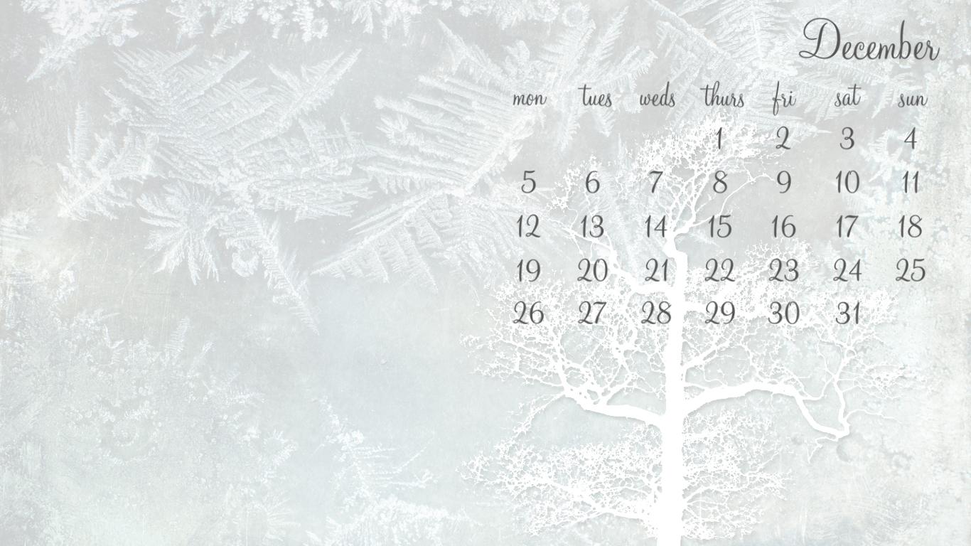 December - 1366 x 768