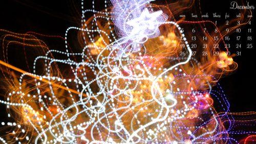December Lights II - 1366 x 768