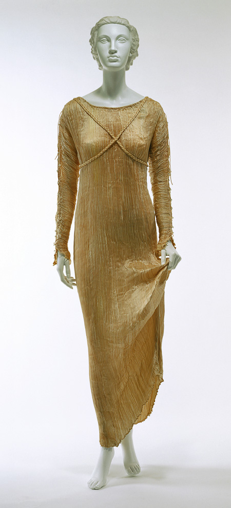 Delpos dress by Mariano Fortuny