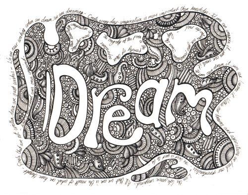 Dream - Ink Illustration - May 30th 2012