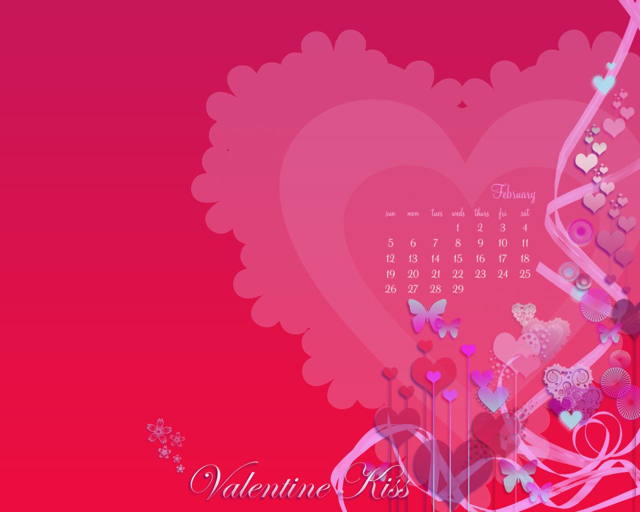 February Desktop Valentine 1280 x1024