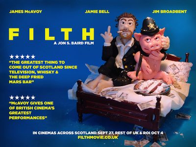 Filth Poster by Lizzie Campbell