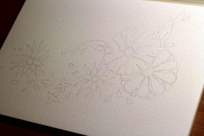 Flowers - Step 1