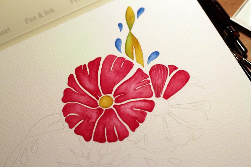 Flowers - Step 2
