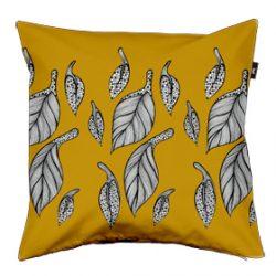Golden Leaves Cushion