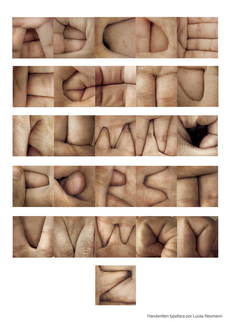 Handwritten Typeface by Lucas Neumann