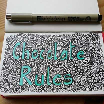 Chocolate Rules - Moleskine