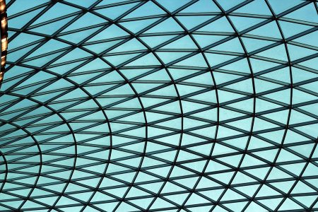 Glass Roof - Central Courtyard: British Museum