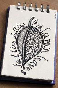 Sketchbook: November Leaves