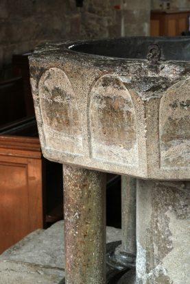 The Font at Bosham Church