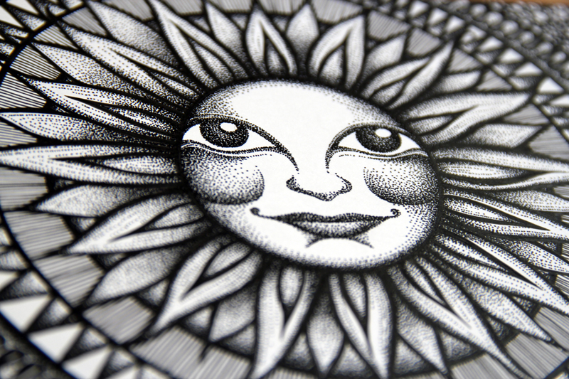 Sun Face - Twitter Exhibit 2014