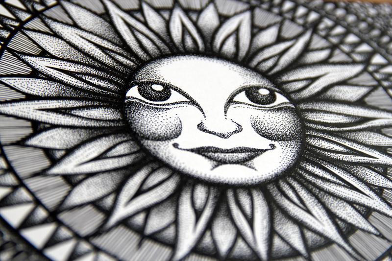Sun Face - Twitter Exhibit 2014