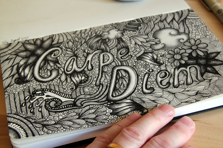 Carpe Diem in my Moleskine