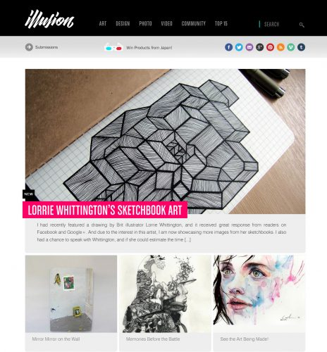 Illusion.Scene360 Front Page