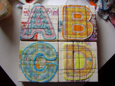 Appliqued Letter Art by Jayhell
