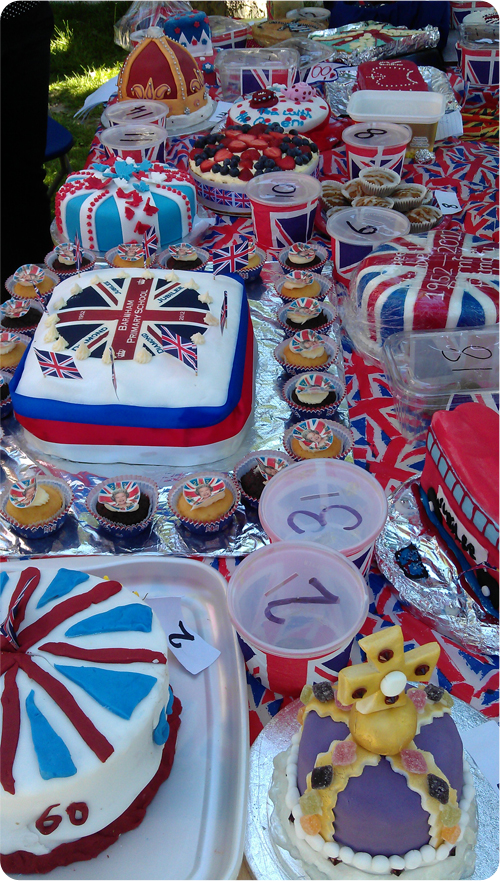 Jubilee Fair Cakes for the 'Bake Off'