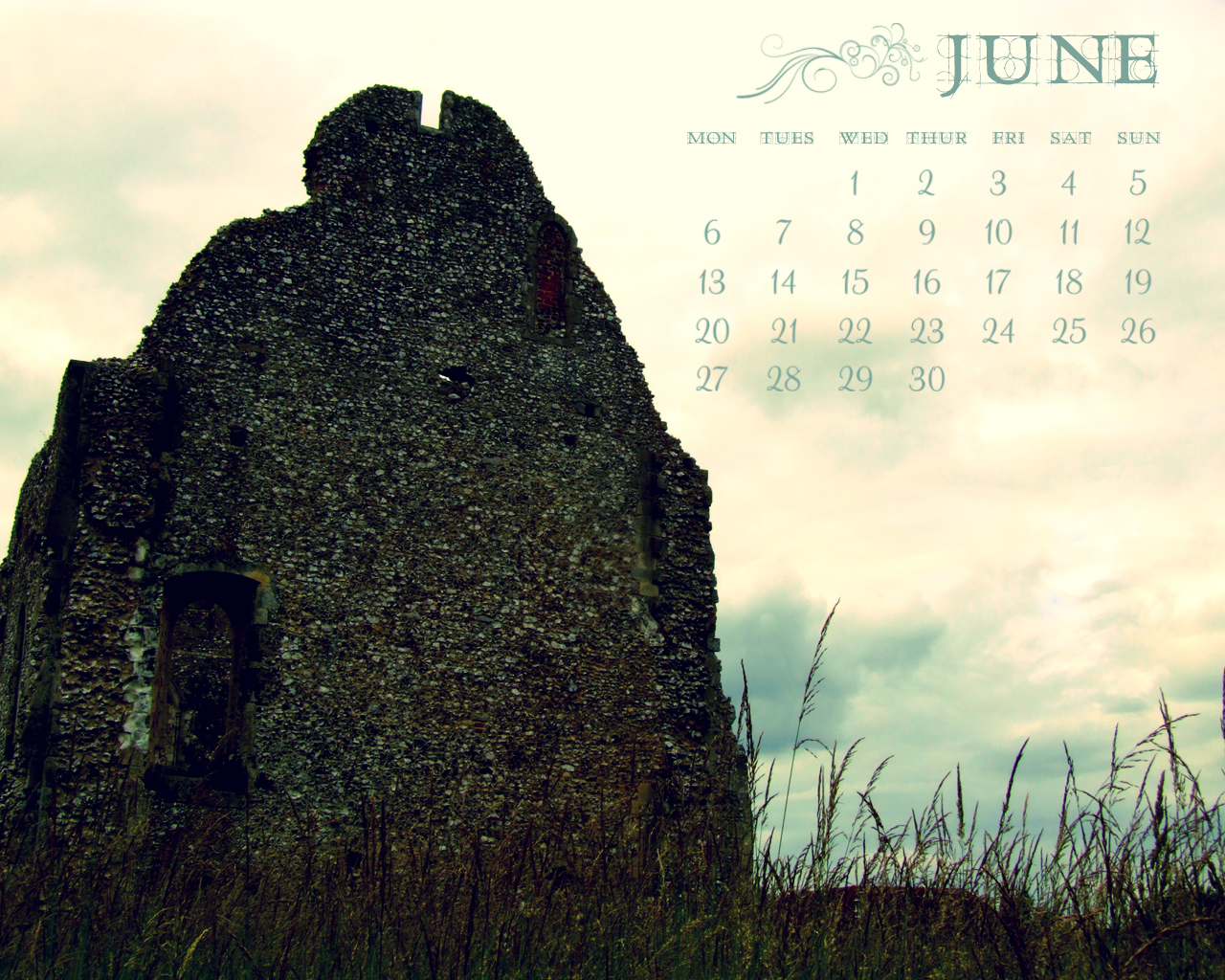 June 2011 Desktop Calendar