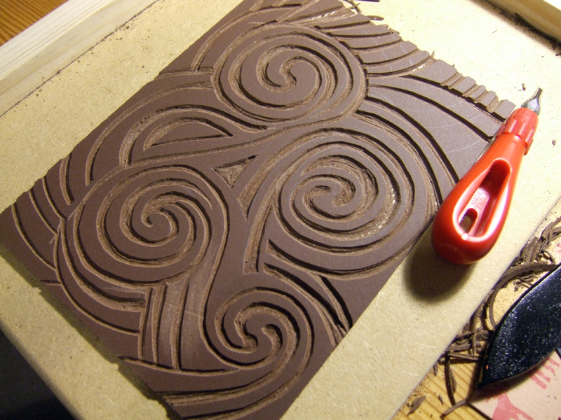 Lorrie Whittington | Lino Cutting