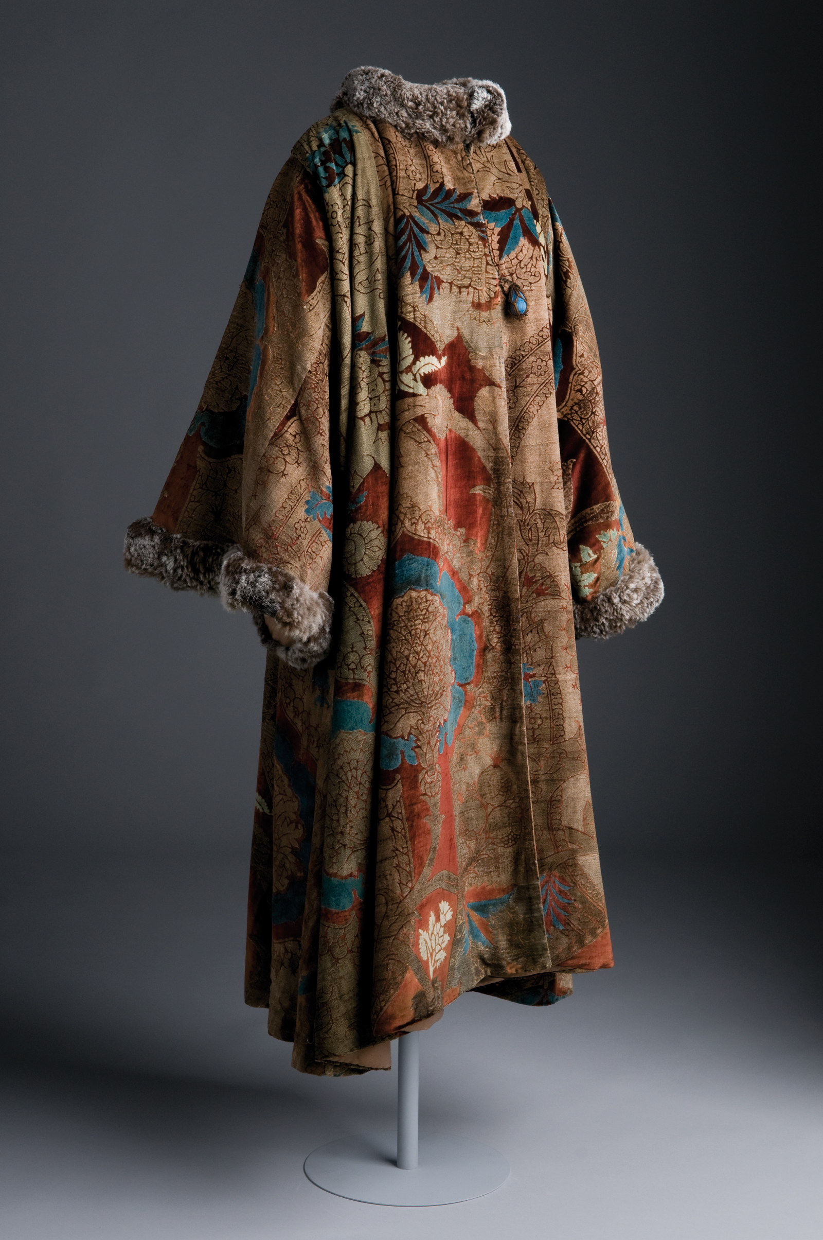 Evening Coat by Mariano Fortuny