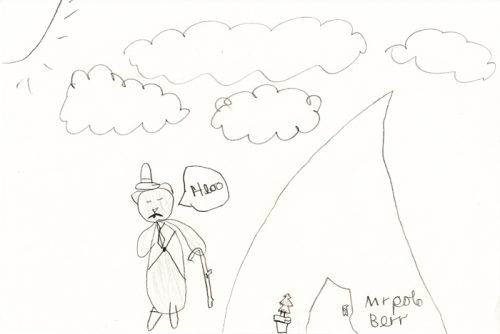 Mr Polo Berr by Orla Darby age 7