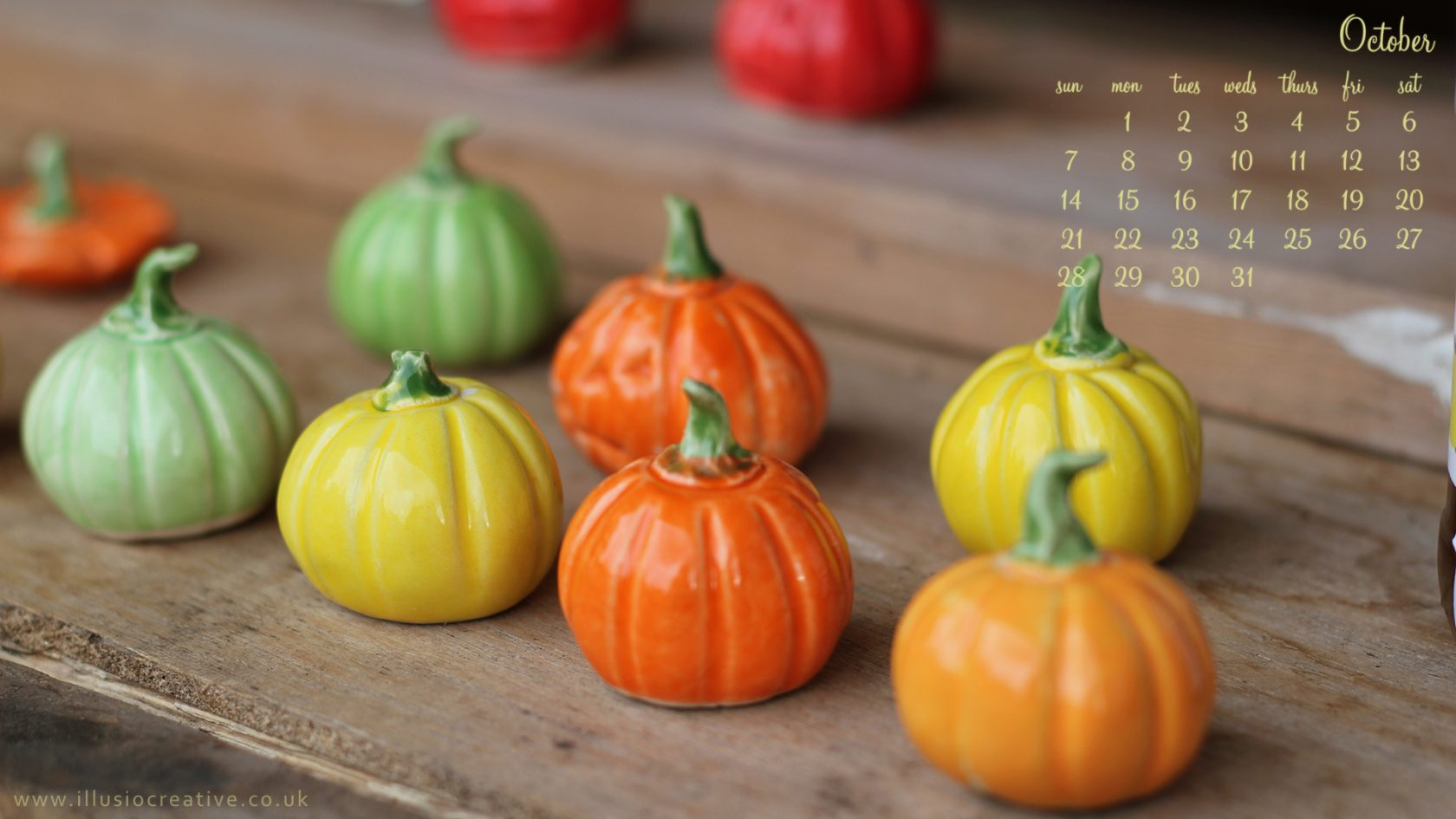 October - 1290 x1080 -Little Pumpkins