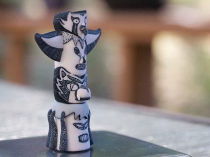 Totem 3d Sculpture