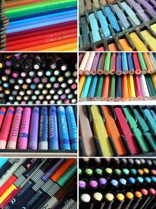 Pens, Pencils, Crayons