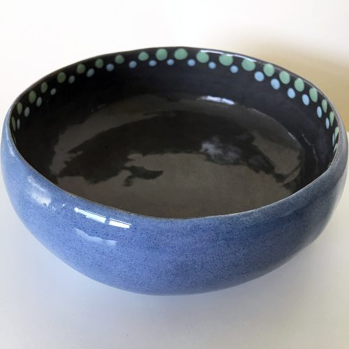 Check our curated gift guides Ceramic Blue and Grey Bowl