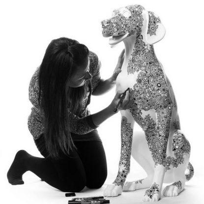 Posca Pup - Johanna Basford