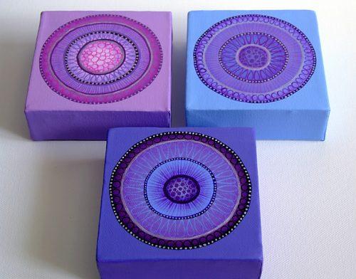 Purple Haze I,II,III