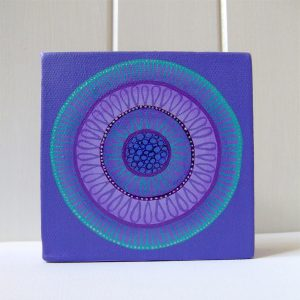 Purple Haze Little Painting