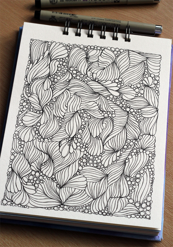 Rolling down the Deep: Sketchbook