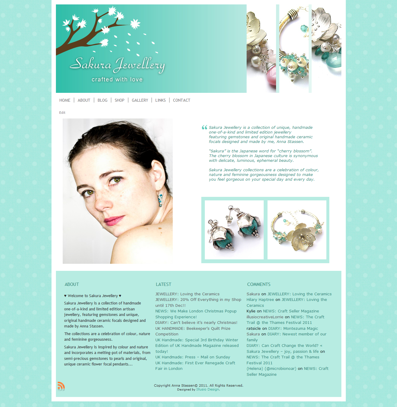 Sakura Jewellery - Limited Edition Handmade Artisan Jewellery