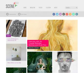 Scene360 Front Page