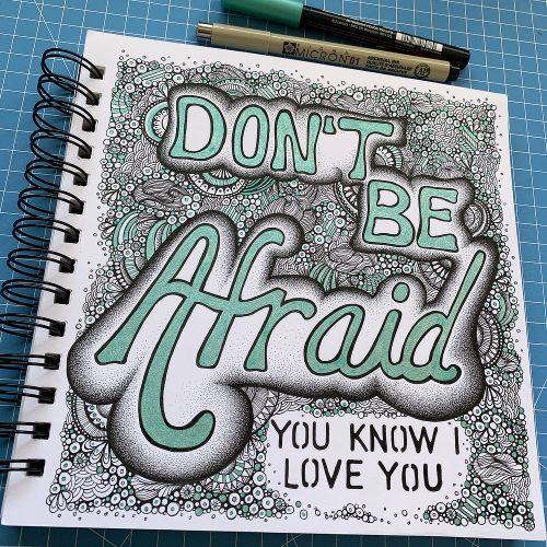 Handlettering - Sketchbook 10/08/2020