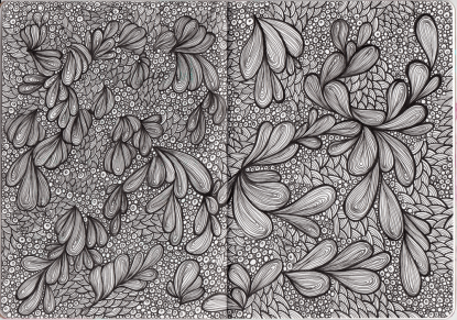 Sketchbook Project Page 10 - 11